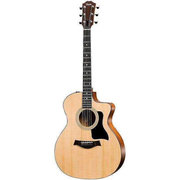 Taylor 114ce review warm subtle tone and grand auditorium body