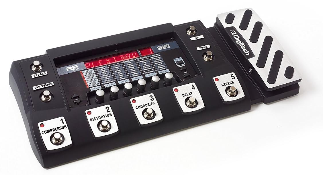 Digitech RP500 Review Large Memory, Awesome Amp and Cab Models