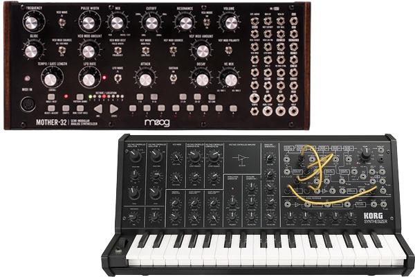 Moog Mother 32 vs Korg MS 20
