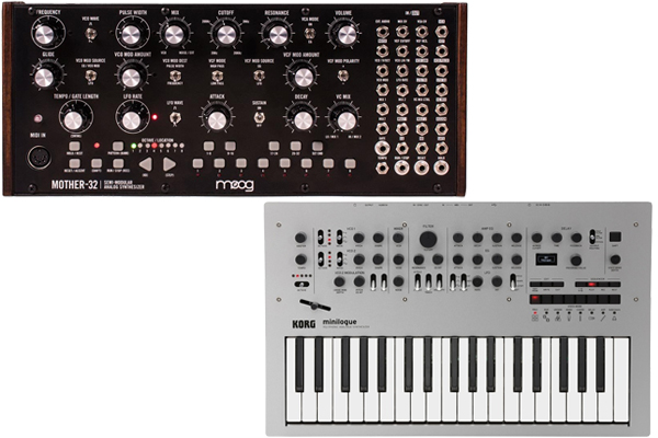 moog mother 32 vs korg minilogue