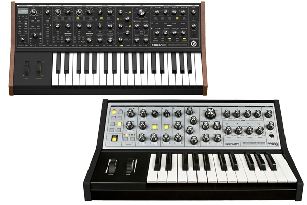 moog sub 37 vs sub phatty