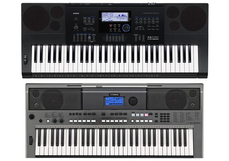 Casio Ctk Vs Yamaha Psr I