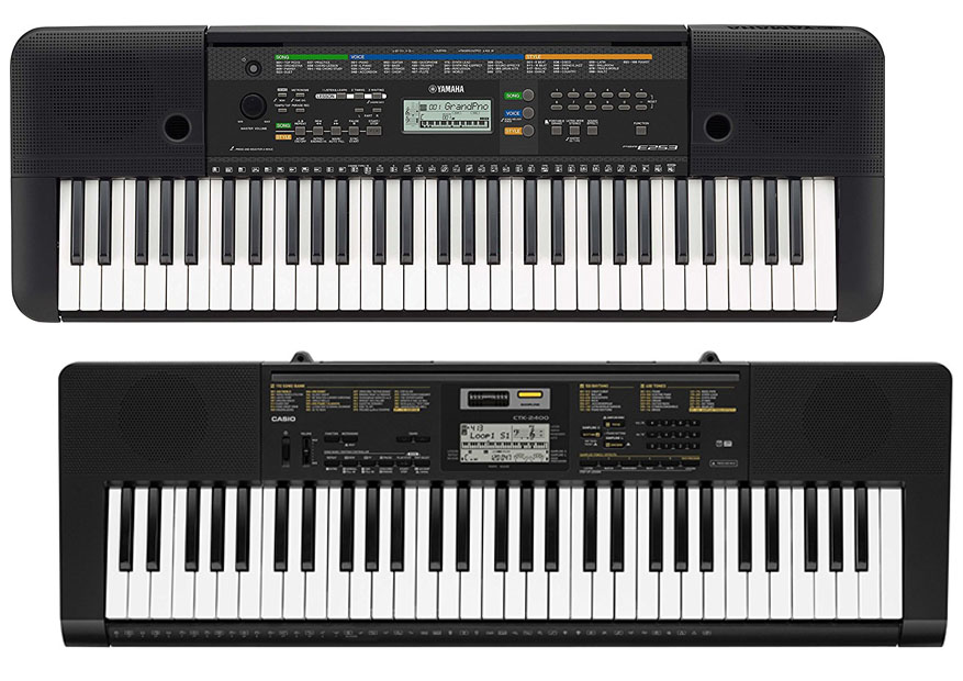 Casio Ctk Vs Yamaha Psr E