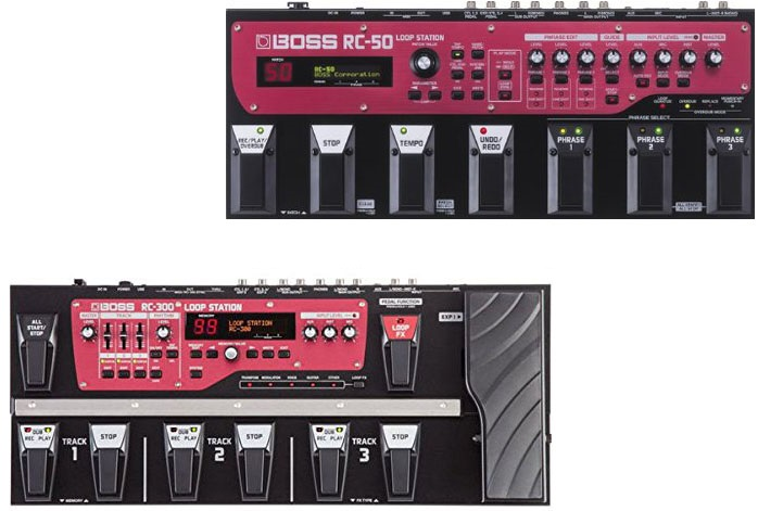 Boss RC 50 Vs RC 300