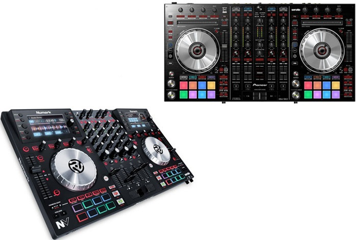 Numark NV Vs DDJ SX2