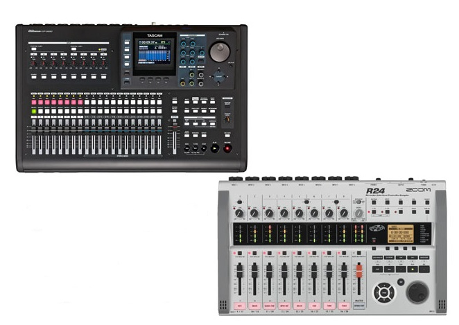 Tascam DP-32SD Vs Zoom R24