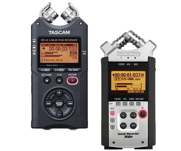 Tascam DR-40 Vs Zoom H4N
