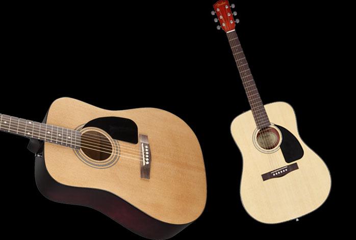 Fender FA-100 Vs CD-60