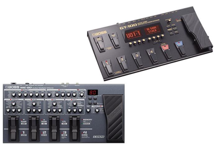 Boss ME-80 Vs GT-100