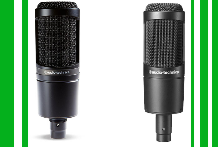 Audio-Technica AT2020 Vs AT2035