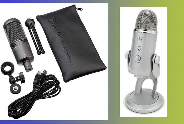 Audio-Technica AT2020 Vs Blue Yeti (2)