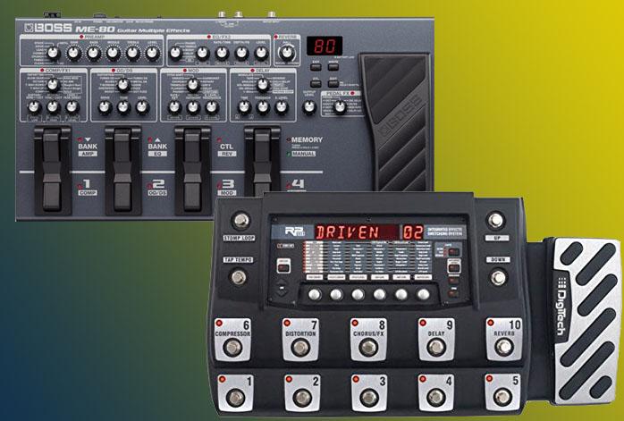 Boss ME-80 Vs DigiTech RP1000