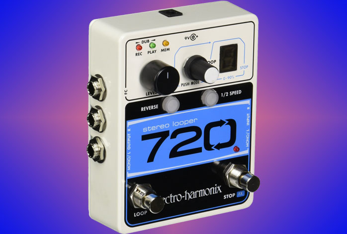 Electro-Harmonix 720 Stereo Looper Review - Reliable Stereo Looper