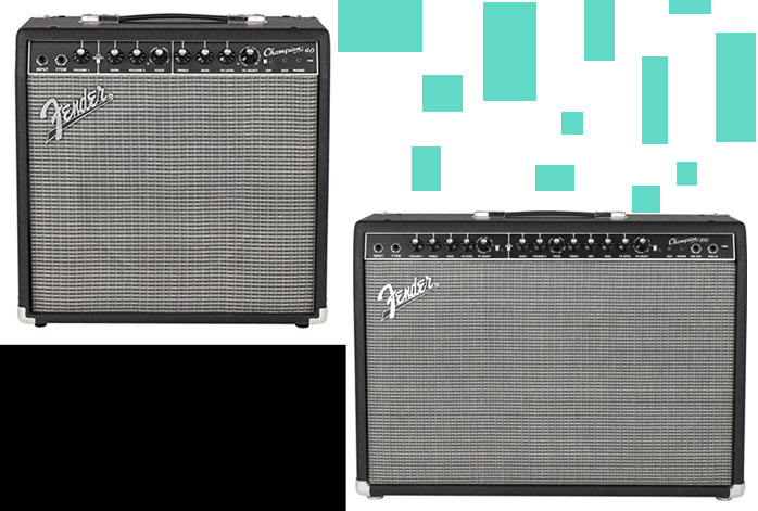 Fender Champion 40 Vs 100