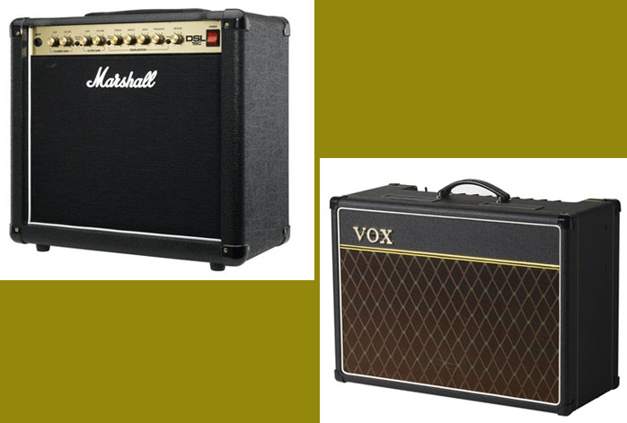 Marshall DSL15C Vs VOX AC15C1