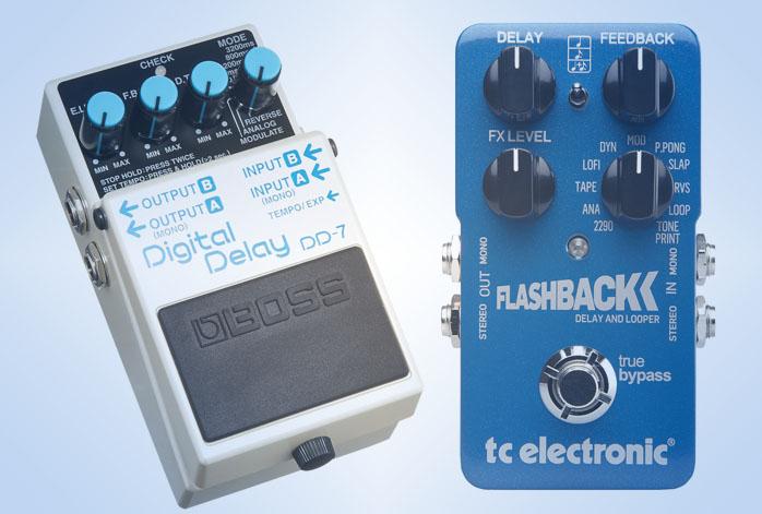 Boss DD7 Vs FlashBack