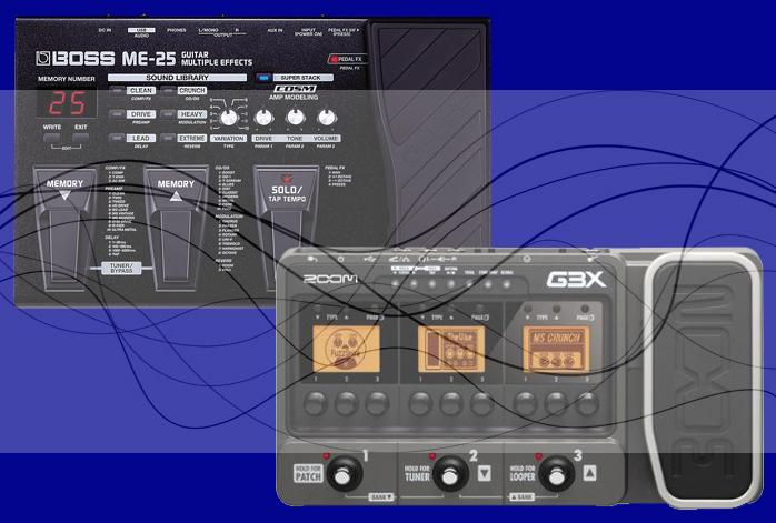 Boss ME 25 Vs Zoom G3X