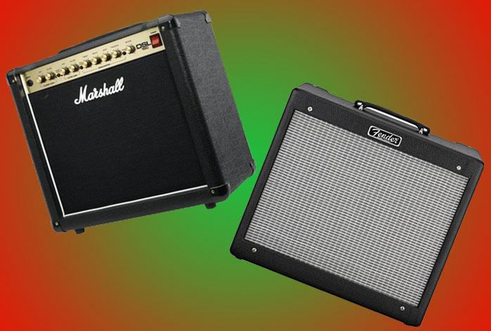 Marshall DSL15C Vs Blues JR