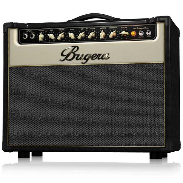 Bugera V22 Review Tube Combo Amp with Vintage Sound and Excellent Reverb
