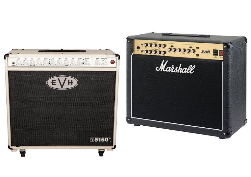 EVH 5150 III Vs Marshall JVM