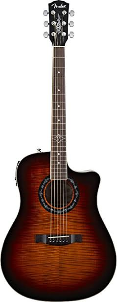 Fender T-Bucket 300CE Review A Solid and Decent Acoustic Guitar