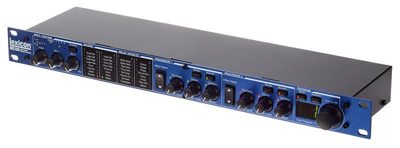Lexicon MX200 Review Excellent FX Processor with Reverbs, Mods, and Delays