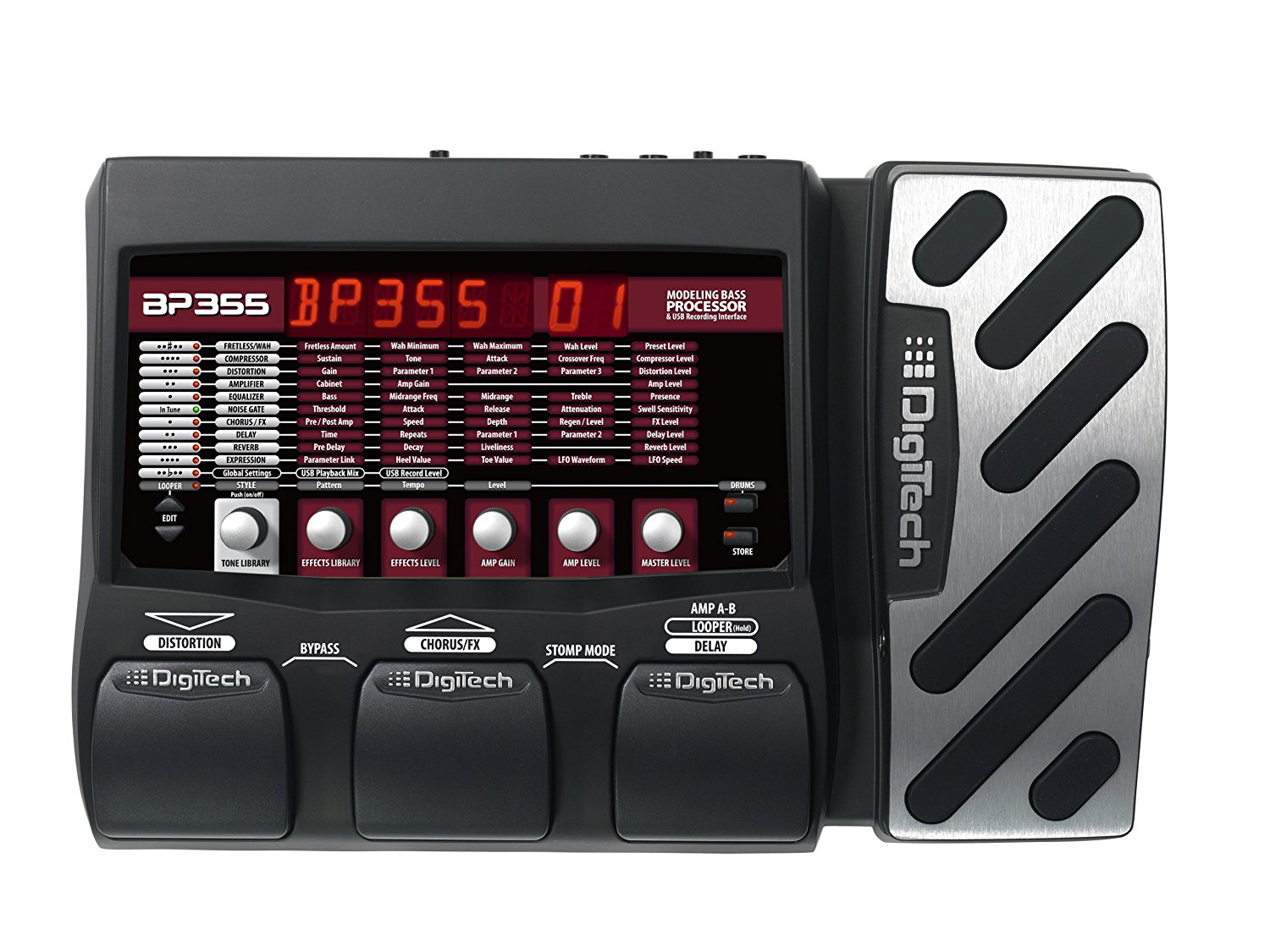 Best Cheap Bass Guitar Multi-Effects Processor 2
