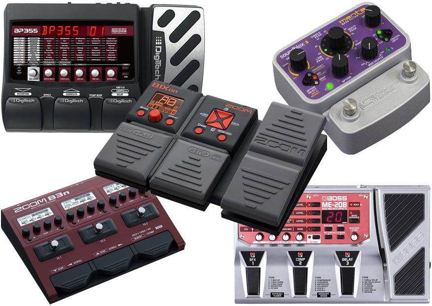 Best Cheap Bass Guitar Multi-Effects Processor