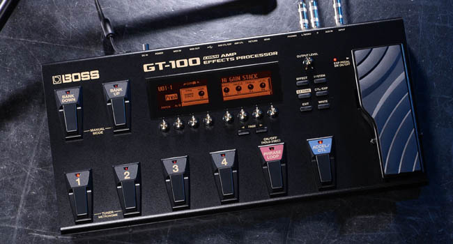 Boss GT-1 Vs GT-100 3