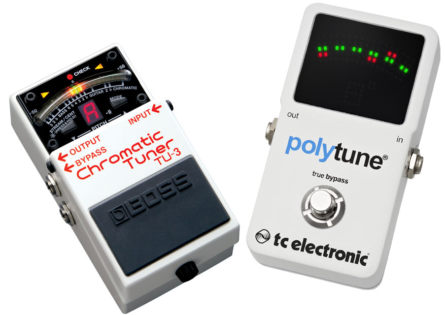 Boss TU3 Vs TC Electronic PolyTune 2 1