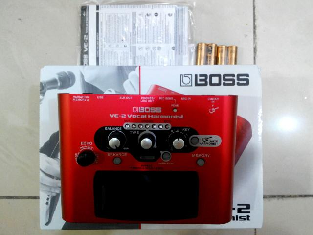 Boss VE-20 Vs VE-2 3