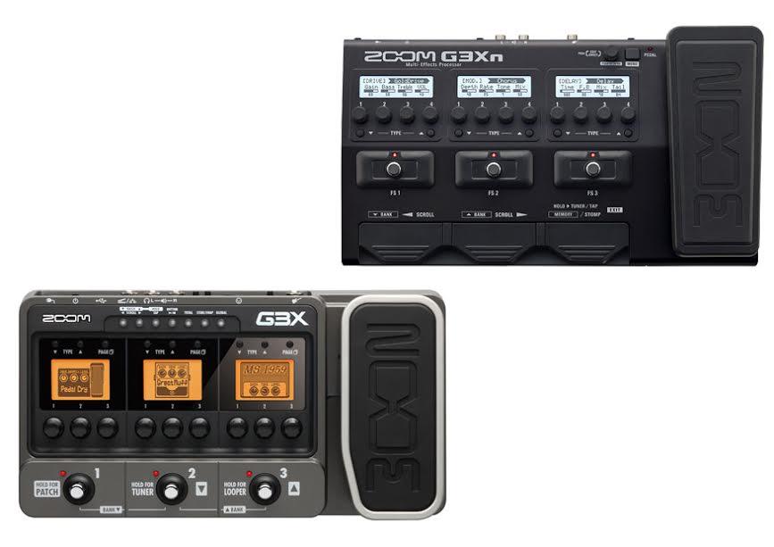 Zoom G3X Vs G3Xn 1