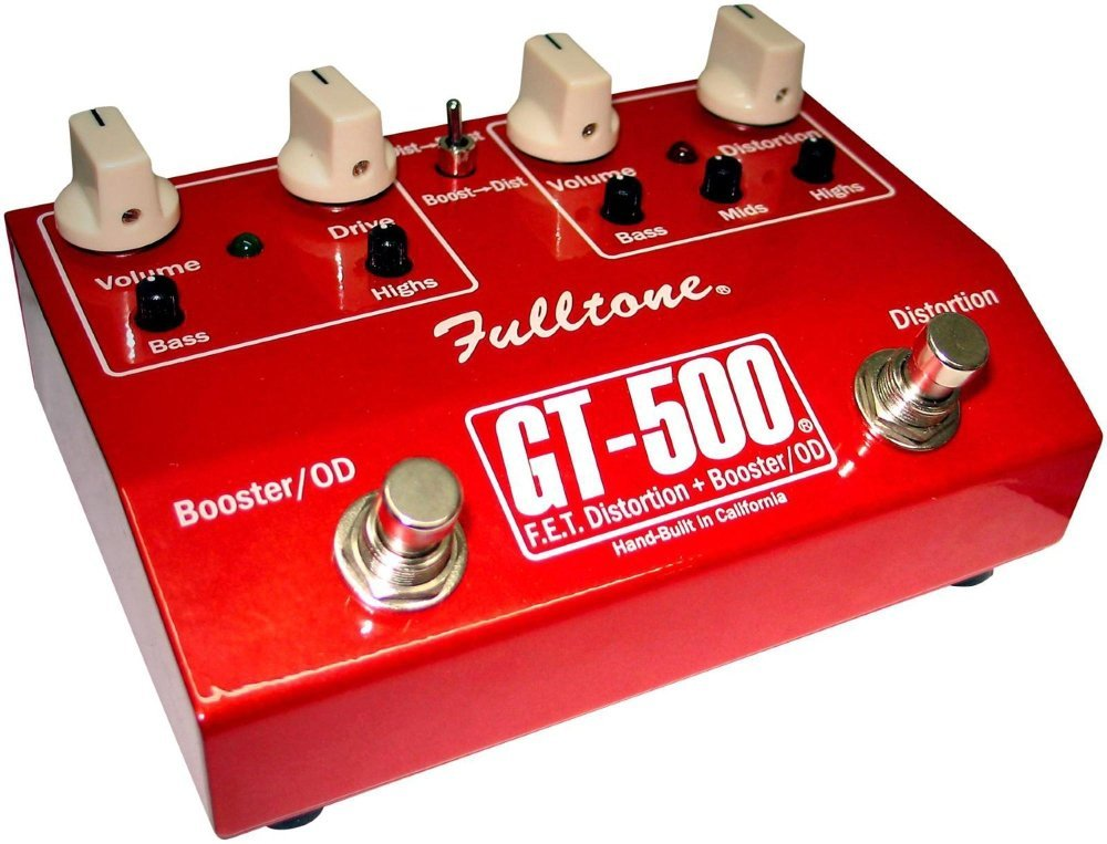 Fulltone GT-500 Review Distortion and Overdrive Booster
