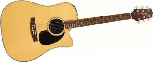 Takamine G Series Review EG360SC Dreadnought Acoustic Electric Guitar, Natural