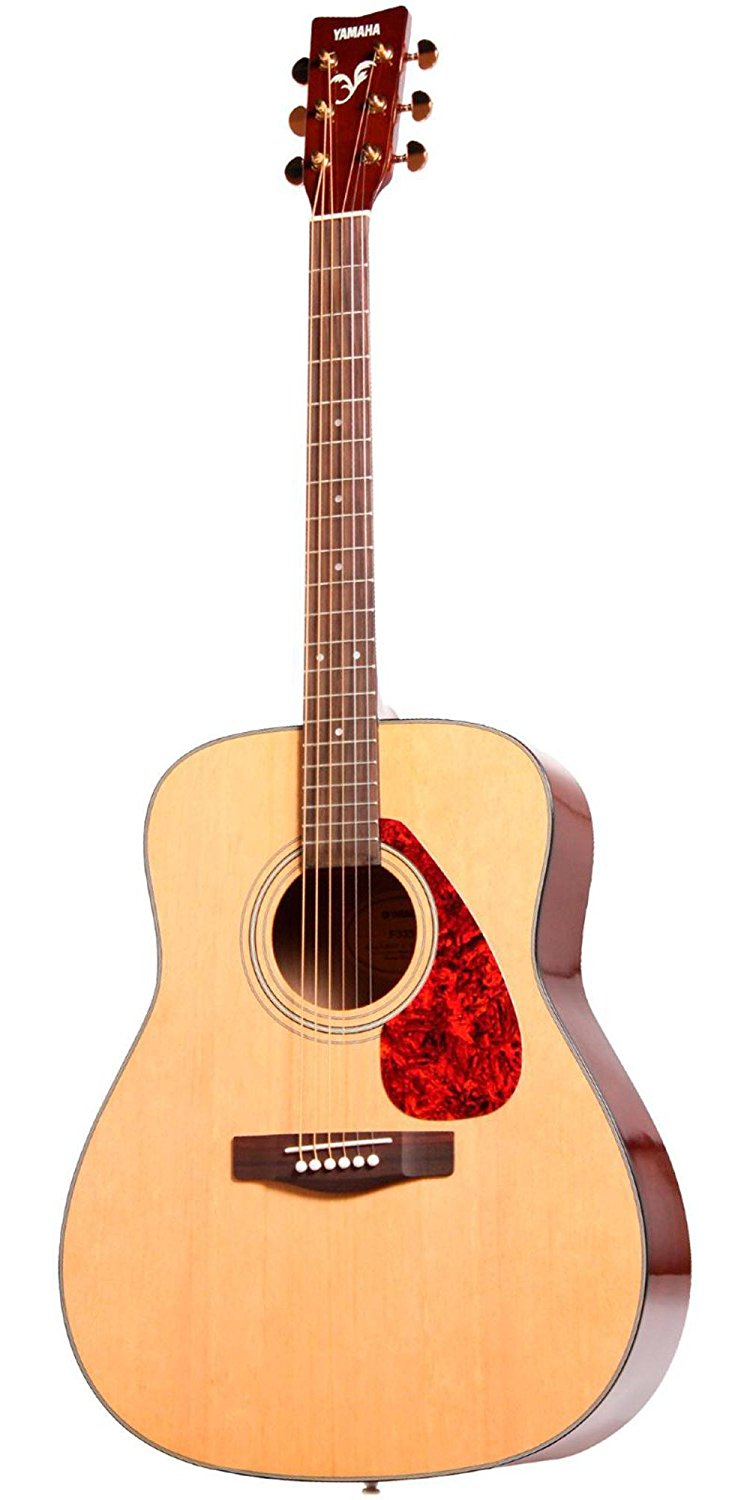 Yamaha F335 Review Acoustic Guitar Natural