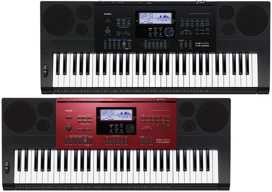 Casio CTK 6200 Vs 6250