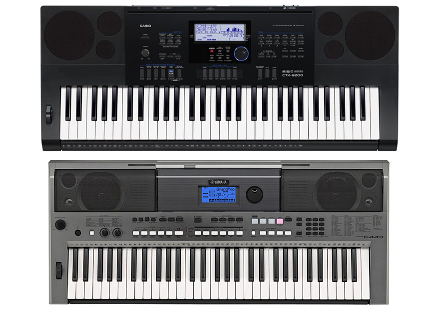 Casio CTK 6200 Vs Yamaha PSR E443