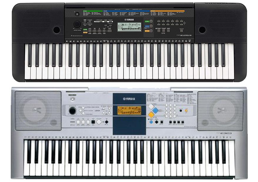 Yamaha Psr E253 Vs E353 Musicalvscom